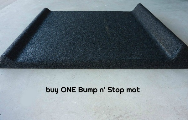 Bump n Stop Car Protector mats Saves Cars Saves Walls