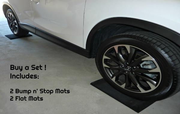 Garage Parking Mats Bump n Stop Protecting Garage Floors